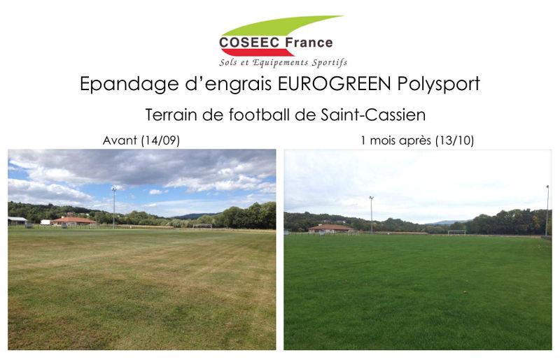 Avant-après terrain de Saint-Cassien