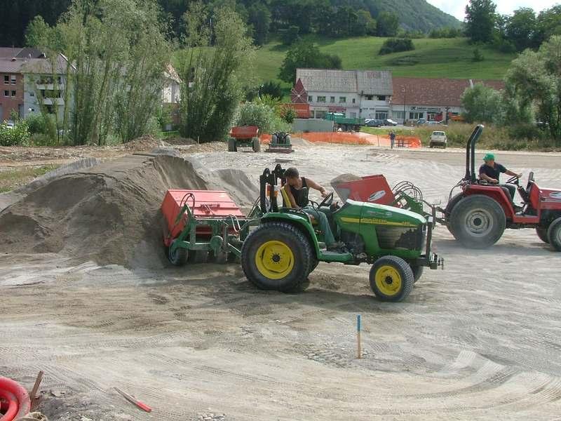 Entretien et création de terrains stabilisés