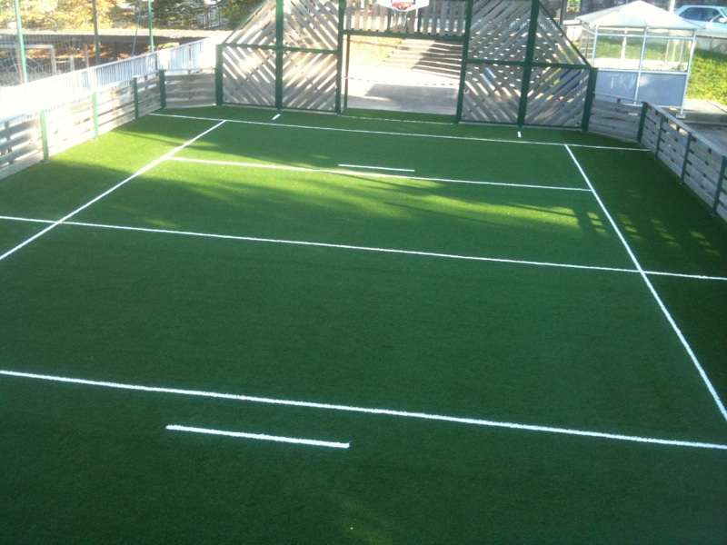 gazon artificiel terrain de foot