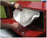 verti top vac pour l'entretien des gazons synthétiques